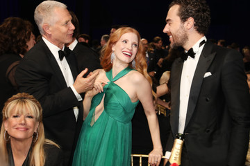 Jessica Chastain The 23rd Annual Critics' Choice Awards - Inside