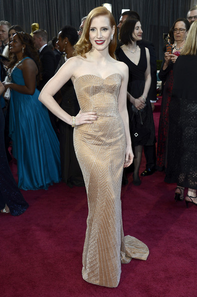 Jessica Chastain - 85th Annual Academy Awards - Arrivals