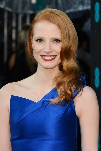 Jessica Chastain - EE British Academy Film Awards - Red Carpet Arrivals