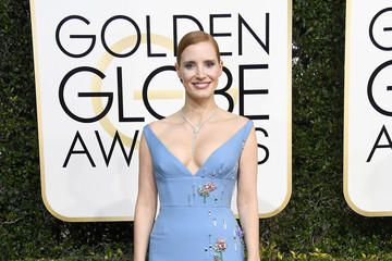 Jessica Chastain 74th Annual Golden Globe Awards - Arrivals