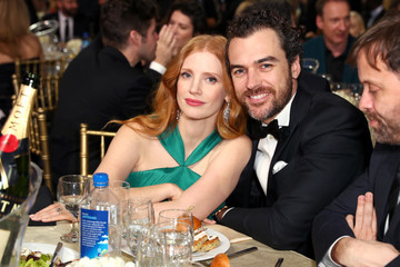 Jessica Chastain FIJI Water at the 23rd Annual Critics' Choice Awards