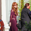Jessica Chastain Celebrity Sightings - Day 5 - The 78th Venice International Film Festival