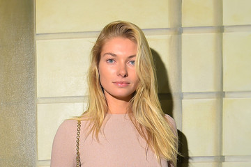 Jessica Hart alice + olivia by Stacey Bendet Spring 2015 NYFW Presentation