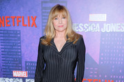 """Actress Rebecca De Mornay attends the """"Jessica Jones"""" Season 2 New York Premiere at AMC Loews Lincoln Square on March 7, 2018 in New York City."""