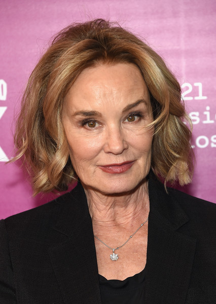 'Feud: Bette and Joan' NYC Event - Arrivals [feud: bette and joan,eyebrow,chin,hairstyle,beauty,forehead,cheek,blond,layered hair,long hair,brown hair,arrivals,jessica lange,photographer,hair,feud,hairstyle,photography,nyc,event,jessica lange,feud,actor,new york city,image,photograph,film producer,photographer,film director,photography]