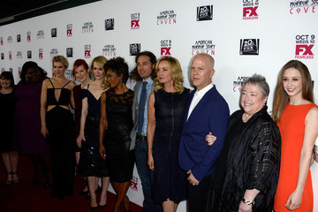 """Jessica Lange Ryan Murphy Premiere Of FX's """"American Horror Story: Coven"""" - Arrivals"""
