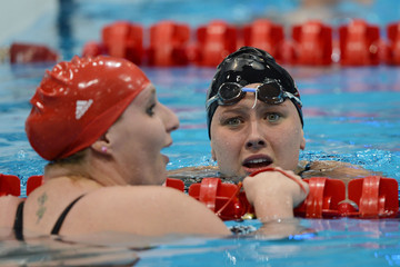 Jessica Long Heather Frederiksen 2012 London Paralympics - Day 8 - Swimming