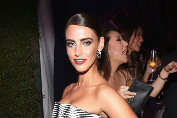 Jessica Lowndes Arrivals at the Elton John AIDS Foundation Oscars Viewing Party — Part 2