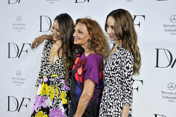 Jessica Michibata Diane Von Furstenburg Photo Call