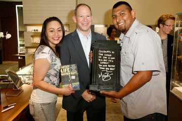 Jessica Sanchez David Yurman With Matthew Berry Hosts an In-Store Event in Costa Mesa, CA