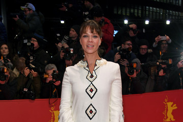 Jessica Schwarz Opening Ceremony & 'Isle of Dogs' Premiere Red Carpet - 68th Berlinale International Film Festival