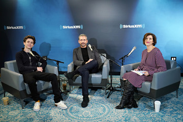 Jessica Shaw SiriusXM's Entertainment Weekly Radio Spotlight With Steve Carell And Timothee Chalamet