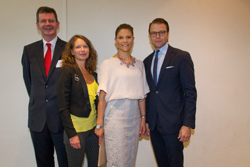 Jessica Stark Swedish Royals Attend 'Never Mind the Gap' Seminar in Stockholm