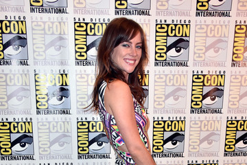 Jessica Stroup 'The Following' Press Line at Comic-Con