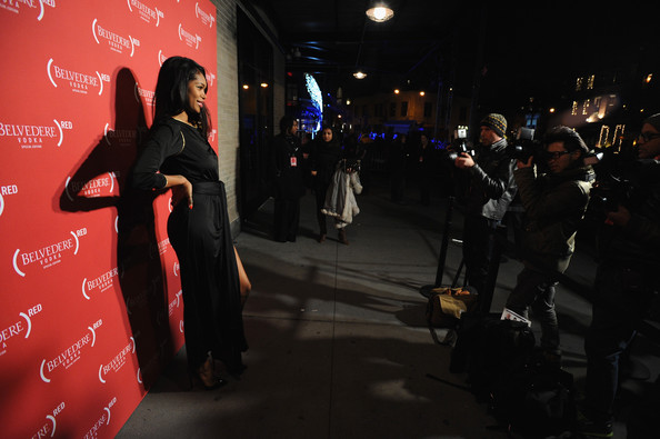 Jessica White - Belvedere Vodka Turns The Meatpacking District (RED) for World AIDS Day