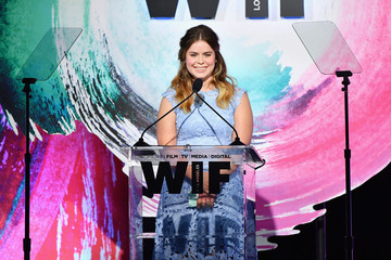 Jessie Ennis Women In Film 2018 Crystal + Lucy Awards Presented By Max Mara, Lancome And Lexus - Inside