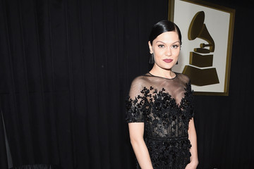 Jessie J The 57th Annual GRAMMY Awards - Red Carpet