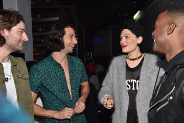 Jessie J Luke James KISS 108's Jingle Ball 2014 - Backstage
