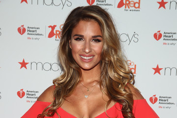 Jessie James Decker The American Heart Association's Go Red For Women Red Dress Collection 2017 Presented By Macy's at Fashion Week in New York City - Arrivals & Front Row