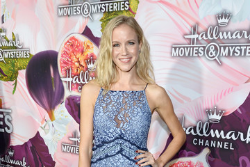 Jessy Schram Hallmark Channel and Hallmark Movies and Mysteries Winter 2018 TCA Press Tour - Red Carpet