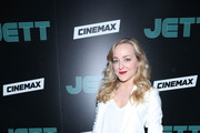 "Actress Geneva Carr attends the New York screening of  ""Jett""  at The Roxy Hotel on June 11, 2019 in New York City."