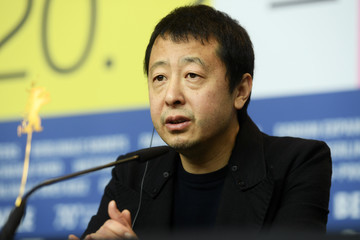 "Jia Zhangke ""Swimming Out Till The Sea Turns Blue"" Press Conference - 70th Berlinale International Film Festival"