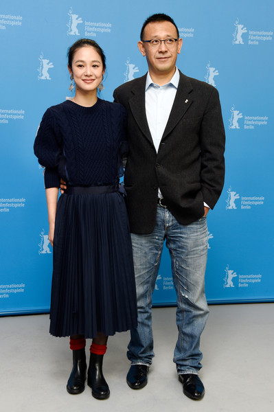 'Gone with the Bullets' Photocall - 65th Berlinale International Film Festival