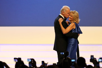 Jill Biden President Obama And First Lady Attend Inaugural Balls