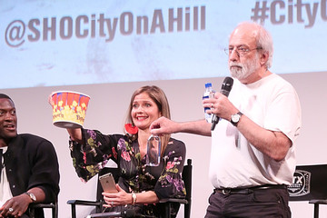 Jill Hennessy FIJI Water At Closing Night Of 'City On A Hill' At ATX Television Festival 2019