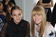 Actress Morgan Saylor and  Editor-In-Chief of Teen Vogue Amy Astley attend the Jill Stuart fashion show during Mercedes-Benz Fashion Week Spring 2015 at Location 05 Studios on September 6, 2014 in New York City.