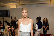 Devon Windsor at Jill Stuart - Here's What Celebs Wore to Sit Front Row This Fashion Week