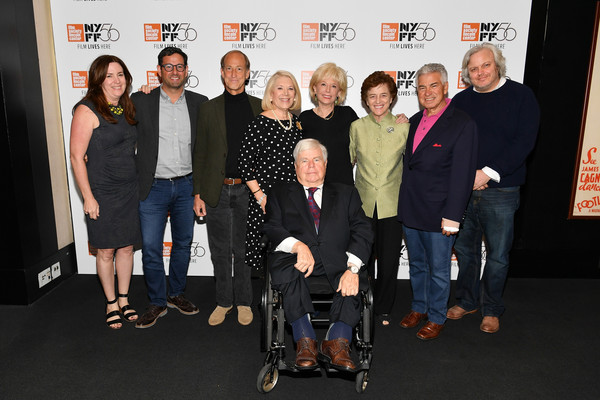 56th New York Film Festival - 'Watergate' - Q&A [product,event,premiere,team,molly thompson,rob sharenow,lesley stahl,richard ben-veniste,q a,l-r,screening q a,watergate,walter reade theatre,new york film festival]