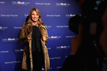 Jill Zarin MMS ONLY_DailyMail.com 2015 Holiday Party - Arrivals