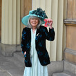 Jilly Cooper Investitures At Buckingham Palace