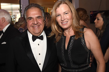 Jim Gianopulos Ann Gianopulos 74th Annual Golden Globe Awards - Cocktail Reception