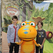 Brendon Eggertsen The Jim Henson Company And PBS SoCal Dinosaur Train Event At Los Angeles Live Steamers Railroad Museum