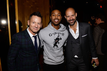 Jim Nelson Chris Mitchell GQ Super Bowl Party 2014 Sponsored By Patron Tequila, Van Heusen, And Miller Fortune - Inside