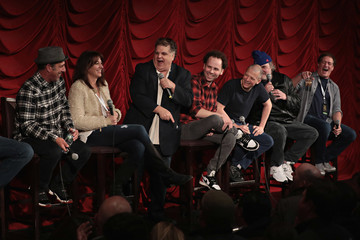 Jim Norton Rich Vos SiriusXM Host Ron Bennington Is Joined By Fellow Comedians During His Annual Thanksgiving Special at New York's Hard Rock Cafe