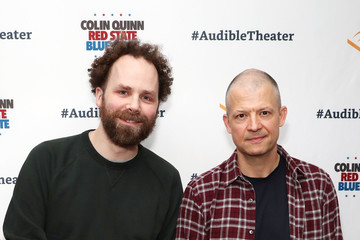 Jim Norton Sam Roberts Opening Night Of 'Colin Quinn: Red State Blue State'