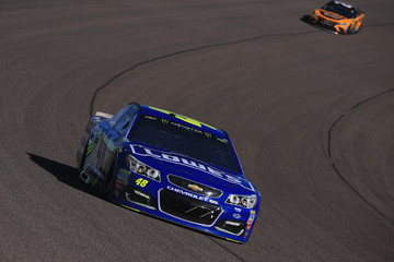 Jimmie Johnson Monster Energy NASCAR Cup Series Championship Ford EcoBoost 400