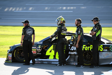 Jimmie Johnson Talladega Superspeedway - Day 2
