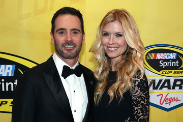 Jimmie Johnson NASCAR Sprint Cup Series Awards - Red Carpet