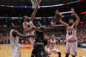 Jimmy Buter Cleveland Cavaliers v Chicago Bulls - Game Four