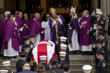 Jimmy Carter Funeral Held For NYC Firefighter Killed In The Line Of Duty