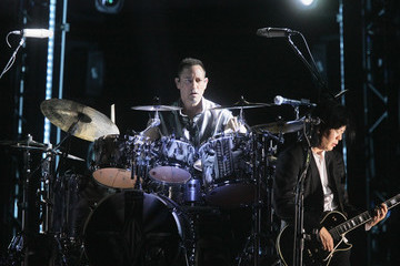 Jimmy Chamberlin The Smashing Pumpkins Perform At Gila River Arena