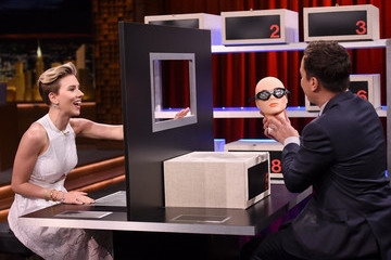 Jimmy Fallon Scarlett Johansson Visits 'The Tonight Show Starring Jimmy Fallon'