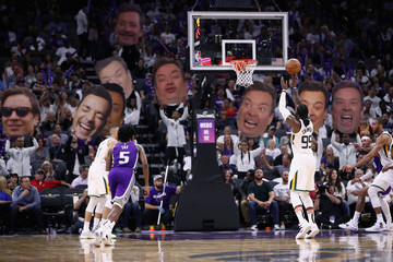 Jimmy Fallon Utah Jazz vs. Sacramento Kings