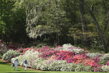 Jimmy Johnson The Masters - Preview Day 2