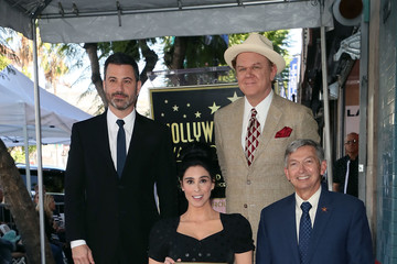 Jimmy Kimmel Sarah Silverman Honored With Star On The Hollywood Walk Of Fame