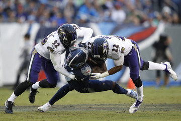Jimmy Smith Baltimore Ravens vs. Tennessee Titans